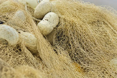 Κλείστε επάνω τα δίχτυα του ψαρέματος, στοκ φωτογραφία με δικαίωμα ελεύθερης χρήσης