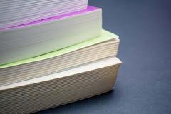 Κλείστε επάνω τα βιβλία Στοκ εικόνες με δικαίωμα ελεύθερης χρήσης