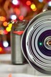 Κλείστε επάνω την άποψη της ψηφιακής κάμερα στοκ εικόνα με δικαίωμα ελεύθερης χρήσης