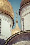 Κλείστε επάνω την άποψη Annunciation του θόλου καθεδρικών ναών Στοκ Εικόνα
