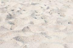 Κλείστε επάνω της άμμου παραλιών θάλασσας Στοκ Φωτογραφία
