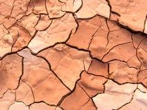 Κλείστε επάνω της ξηράς ραγισμένης λάσπης σε ένα καυτό ιδανικό ημέρας για αντιπροσωπεύει ένα γ Στοκ φωτογραφίες με δικαίωμα ελεύθερης χρήσης