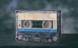 Κλείστε επάνω της παλαιάς κασέτας ηχογράφησης Στοκ Εικόνα