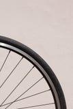 Κλείστε επάνω της ρόδας ποδηλάτων Στοκ εικόνα με δικαίωμα ελεύθερης χρήσης