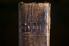 Κλείστε επάνω τη λεπτομέρεια της παλαιάς Βίβλου Στοκ φωτογραφία με δικαίωμα ελεύθερης χρήσης