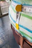 Κλείστε επάνω τη διαφήμιση απώλειας βάρους στο σταθμό BTS Στοκ φωτογραφία με δικαίωμα ελεύθερης χρήσης