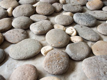 Κλείστε επάνω τη σύσταση υποβάθρου βράχου πετρών Στοκ φωτογραφία με δικαίωμα ελεύθερης χρήσης