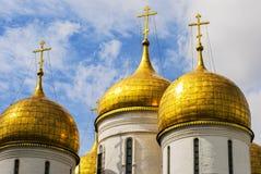 Κλείστε επάνω τον καθεδρικό ναό Annunciation στο Κρεμλίνο, Μόσχα, Ρωσία Στοκ Εικόνες