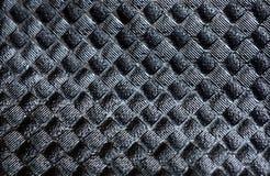 Μαύρο λαστιχένιο υπόβαθρο Στοκ Φωτογραφίες