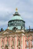 Κλείστε επάνω του νέου παλατιού Πότσνταμ Στοκ φωτογραφία με δικαίωμα ελεύθερης χρήσης