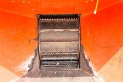 Κλείστε επάνω του ξύλινου εργαλείου τροφοδοτών πελεκιών Στοκ φωτογραφία με δικαίωμα ελεύθερης χρήσης