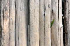 Κλείστε επάνω του παλαιού φράκτη κούτσουρων Στοκ φωτογραφία με δικαίωμα ελεύθερης χρήσης