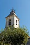 Κλείστε επάνω του πύργου εκκλησιών Στοκ Εικόνες