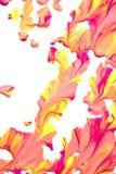 Κλείστε επάνω του χρώματος Splatters Στοκ φωτογραφία με δικαίωμα ελεύθερης χρήσης