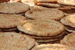 Κλείστε επάνω το επίπεδο ψωμί Nang στοκ φωτογραφία με δικαίωμα ελεύθερης χρήσης