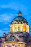 Κλείστε επάνω το θόλο της αίθουσας θρόνων Ananta Samakom, το ιταλικό Renaiss Στοκ Εικόνες