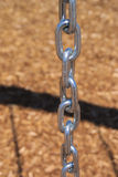 Κλείστε επάνω το μήκος της αλυσίδας από μια ταλάντευση Στοκ Φωτογραφία