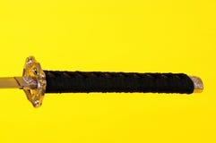 Κλείστε επάνω το ξίφος Σαμουράι Στοκ εικόνα με δικαίωμα ελεύθερης χρήσης