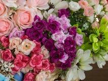 Κλείστε επάνω το λουλούδι υφασμάτων Στοκ φωτογραφία με δικαίωμα ελεύθερης χρήσης
