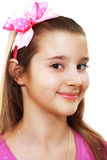 10 έτη κοριτσιών Στοκ φωτογραφία με δικαίωμα ελεύθερης χρήσης