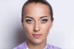 Κλείστε επάνω το πρόσωπο γυναικών στοκ φωτογραφίες με δικαίωμα ελεύθερης χρήσης