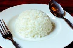 Κλείστε επάνω το ταϊλανδικό ρύζι Στοκ Εικόνες