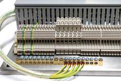 Κλείστε επάνω το τερματικό πίνακα ελέγχου Στοκ εικόνα με δικαίωμα ελεύθερης χρήσης