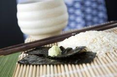 Κλείστε επάνω το wasabi Στοκ φωτογραφία με δικαίωμα ελεύθερης χρήσης