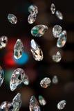 Λαμπιρίζοντας διαμάντια Στοκ Εικόνες