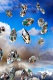 Λαμπιρίζοντας διαμάντια Στοκ Εικόνα