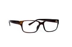 Κλείστε επάνω των γυαλιών που απομονώνονται Στοκ Εικόνα