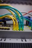 Κλείστε επάνω των καλωδίων USB Στοκ εικόνες με δικαίωμα ελεύθερης χρήσης