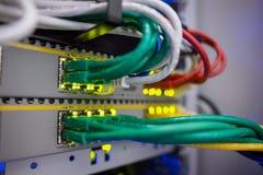 Κλείστε επάνω των καλωδίων USB Στοκ Φωτογραφίες