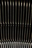 Κλείστε επάνω των παλαιών απεργών πιάτων γραφομηχανών Στοκ εικόνα με δικαίωμα ελεύθερης χρήσης