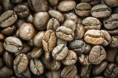 Κλείστε επάνω των ψημένων φασολιών καφέ, εκλεκτική εστίαση Στοκ φωτογραφία με δικαίωμα ελεύθερης χρήσης