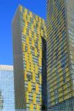 Κλείστε επάνω Veer των δίδυμων πύργων στο Λας Βέγκας, Νεβάδα, ΗΠΑ Στοκ Εικόνα