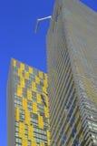 Κλείστε επάνω Veer των δίδυμων πύργων στο Λας Βέγκας, Νεβάδα, ΗΠΑ Στοκ Φωτογραφία