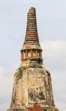 Κλείστε επάνω Wat Chai Watthanaram Στοκ Φωτογραφία