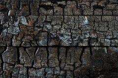 Κλείστε την επάνω απανθρακωμένη ξύλινη σύσταση υποβάθρου Στοκ φωτογραφία με δικαίωμα ελεύθερης χρήσης