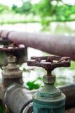 Κλείστε τη βαλβίδα νερού Στοκ Εικόνα
