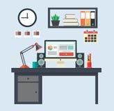 κλείστε τη θέση που καλύπτονται επάνω στην εργασία διανυσματική απεικόνιση