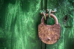 κλείδωμα παλαιό Στοκ εικόνες με δικαίωμα ελεύθερης χρήσης