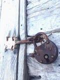 κλείδωμα παλαιό Στοκ Εικόνα