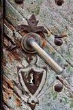 κλείδωμα σκουριασμένο Στοκ Φωτογραφίες