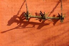 Κλειμένο το τηλέφωνο άροτρο Στοκ φωτογραφίες με δικαίωμα ελεύθερης χρήσης