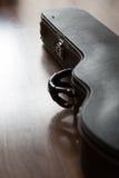 Κλειστή ηλεκτρική περίπτωση κιθάρων Στοκ φωτογραφία με δικαίωμα ελεύθερης χρήσης