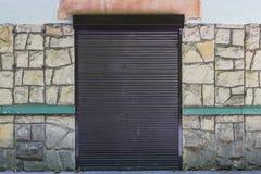 Κλειστή πόρτα στο κατάστημα Στοκ εικόνα με δικαίωμα ελεύθερης χρήσης