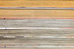 Κλειστός επάνω συσσωρεύοντας τα βιβλία κινούμενων σχεδίων Στοκ Εικόνα