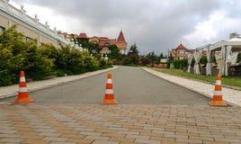κλειστός δρόμος Στοκ Εικόνες