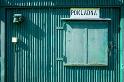 κλειστός Στοκ Εικόνα